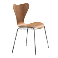Restaurant Furniture Stackable Bentwood Dining Chairs for KFC