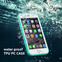 high quality water proof high transparent tpu pc case for iphone 6 tpu moblie phone case sublimation tpu case