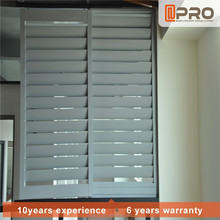 Material aluminum profile operable louvers window frames for louvered windows