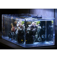 custom design clear acrylic aquarium fish tank