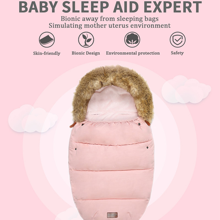 High Quality Winter Baby Stroller Sleeping Bag