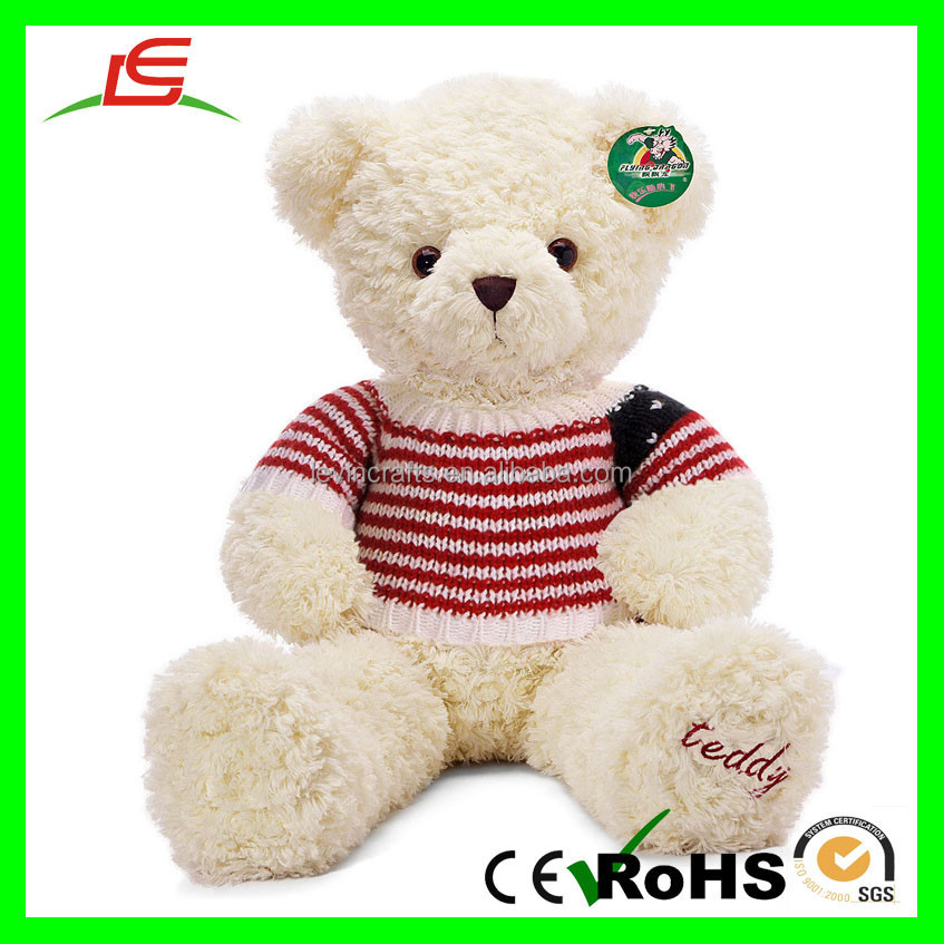 28 inch Giant Hug Stuffed Plush Teddy Bear Toy with Knitted Sweater