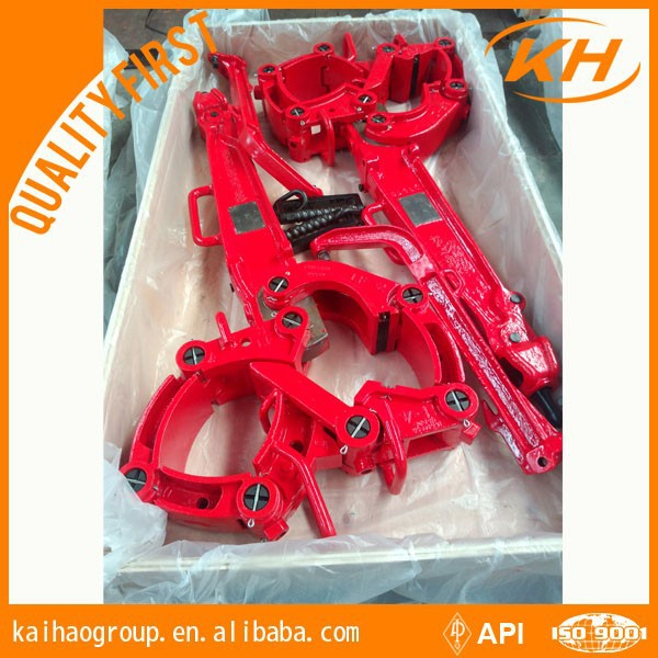 API Certified wellhead handling tools Extended Casing Manual Tongs for oil drilling