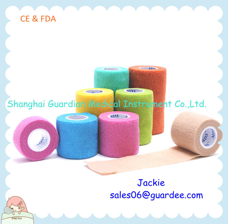shanghai Pet Products Medical Elastic Cohesive Bandage.mds (CE,FDA approved)