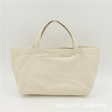 Nature Color Tote Shopping Bag Blank Canvas Wholesale Tote Bags