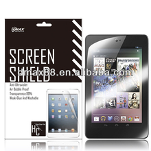 Tablet screen protective film universal for Google nexus 7 oem/odm(Anti-Glare)
