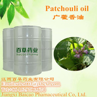 100%Natural distilled Patchouli essential oil gold China supplier