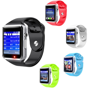 new arrival touch screen wireless pager restaurant waiter service wrist watch buzzer