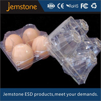 Wholesale disposable 12 quail egg palstic tray