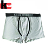 Customized Brand Boxers for Men with 180gsm Cotton/Spandex Good quality Custom Mens Underwear with Your Own Logo