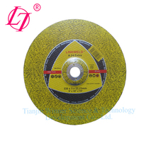 High efficient metal 9 inch cutting wheel grinding disc