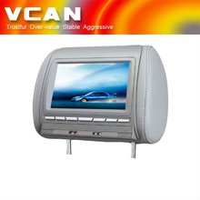HAV-800HD 8.5 inch headrest Monitor / DVD player DVD+GAMES+SD+USB+DualIR+FM+MP4+DIVX
