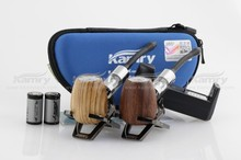 Good quality stainless steel hammer electronic Kamry K1000 smoking wooden pipe