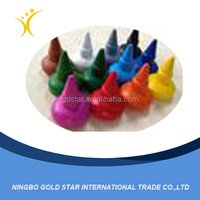 Eco-Friendly Multi Color Finger Crayons for Kids