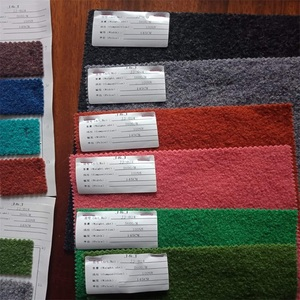 100% boiled wool fabric many colours for women jackets