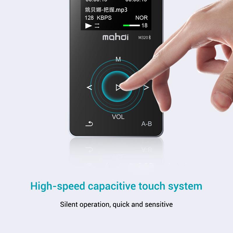 Mahdi M320 Hifi Lossless Music Bluetooth MP3 Player 1.8 TFT Screen 8GB Memory Multifunction MP3 Player Support FLAC ALAC Format (6)