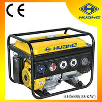 3.0KW Gasoline Generator Electric Start with Battery, Plastic Panel