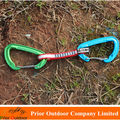 24KN Quick Link with webbing 1*10cm Climbing carabiner