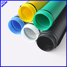 85mm adjustable colorful plastic drawing storage tube