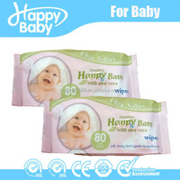 Flushable Baby Wet Wipes
