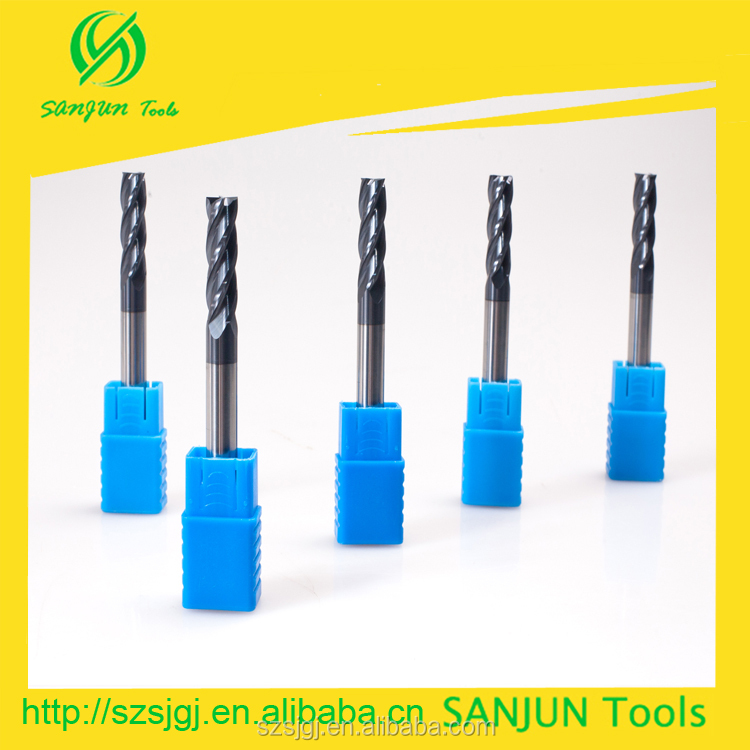 Made in china,Wide variety of abrasion resistant carbide end mill in milliing cutters