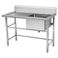 BN-S09 Kitchen Commercial Stainless Steel Single Sink
