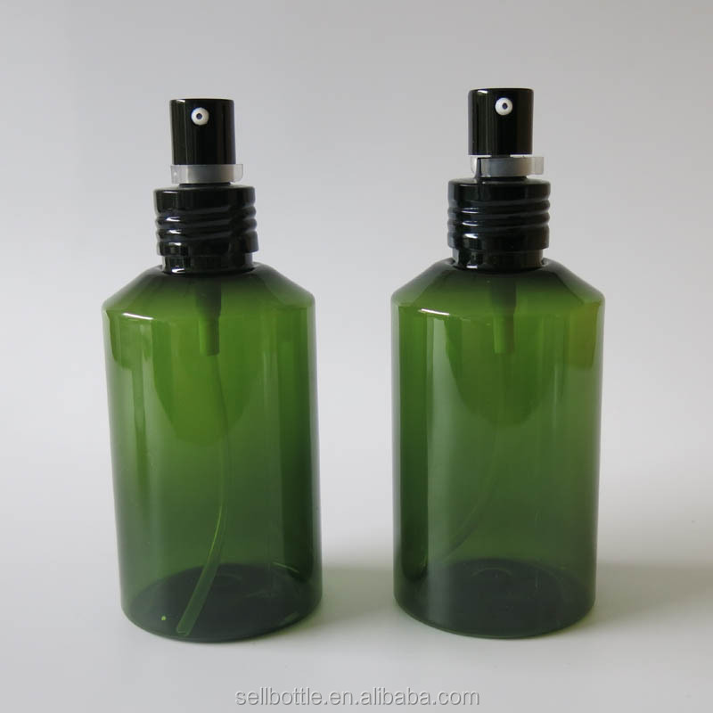 150ml army green plastic spray bottle with spray