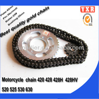 motorcycle parts,ax100 motorcycle chain ,motorcycle chain and sprocket sets