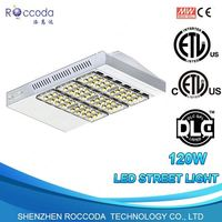 Outdoor 120w LED City Lighting Aluminum Alloy Intergrated Photocell LED Street Lights Retrofit Kits