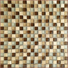 wholesale price per square meter swimming pool crystal glass mosaic tile