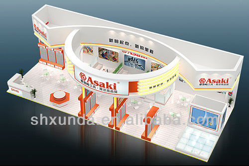 Shanghai Popular exhibition stand