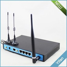 YF360D high powered 4g lte industrial wifi router dual sim card with 4 RJ45 port