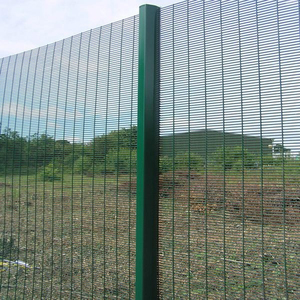 358 anti climb high security pvc coated wire wall fence