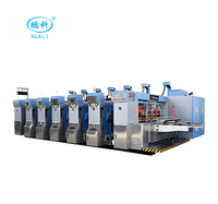 High quality printer slotter and die-cutter machine cheap carton box printing with slotting machine