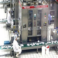 Complete Fresh Uht Milk Processing Line / Dairy Machines