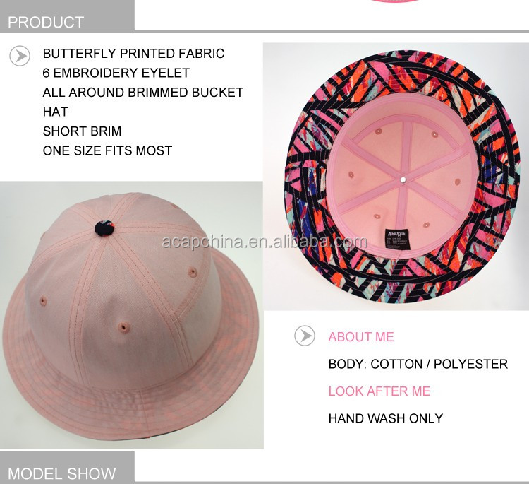 Adjustable Size Multi Colors Bucket Hat and Caps for Wholesale