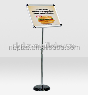 A3, A4 Polished Elegant display stands Poster stand display