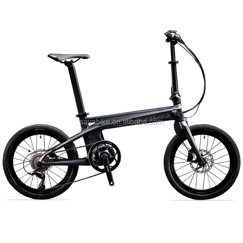 2017 July newest carbon electric bicycle high capacity folding electric bike with light weight carbon frame electric bike