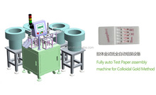 auto blood typing card assembly production line