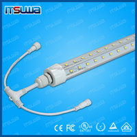 Buy 180 Degree V shaped walking freezer led light 6ft t8 with UL ...