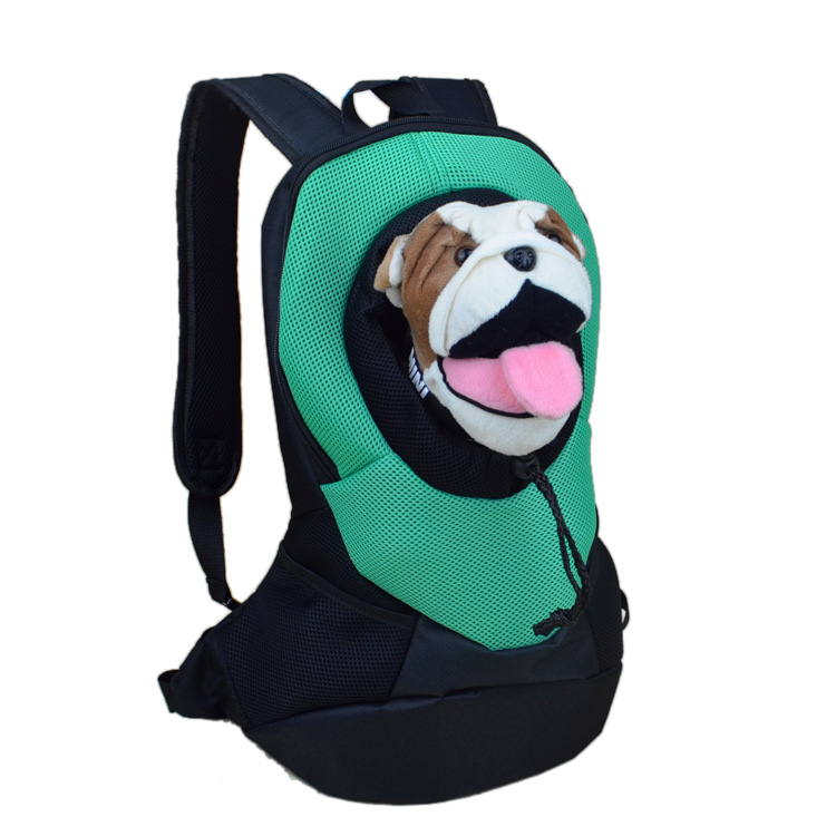 soft shoulder adjustable straps backpack for you to carry your pet dog cat go out and travel