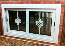 cheap house windows for sale pvc/upvc sliding window with mosquito net