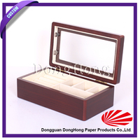 High Quality Cheap Custom Made Wooden Jewelry Box Wholesale