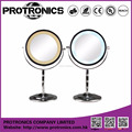 JM904 LED lighting mirror table mirror standing mirror double side magnifying