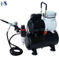 AF186K Master Airbrush Cool Runner Pro High Performance Compressor w/ Air Tank