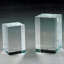 Wholesale K9 blank crystal glass cube for 3D engraving
