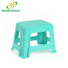 Excellent quality colorful baby plastic bath step foot stool for kids