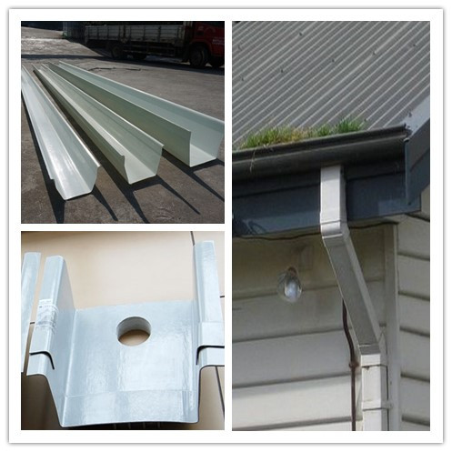 House Gutter Making Machine With Different Thickness - Buy ...