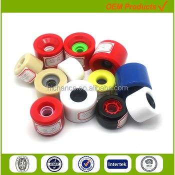 professional manufacturer high rebound high quality freeride cruising wood longboard skateboard wheels