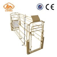 Solid Rod farrowing crates for HOG equipment